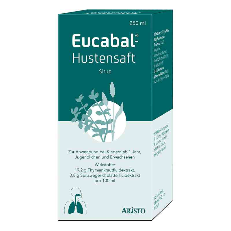 Eucabal Hustensaft  zamów na apo-discounter.pl