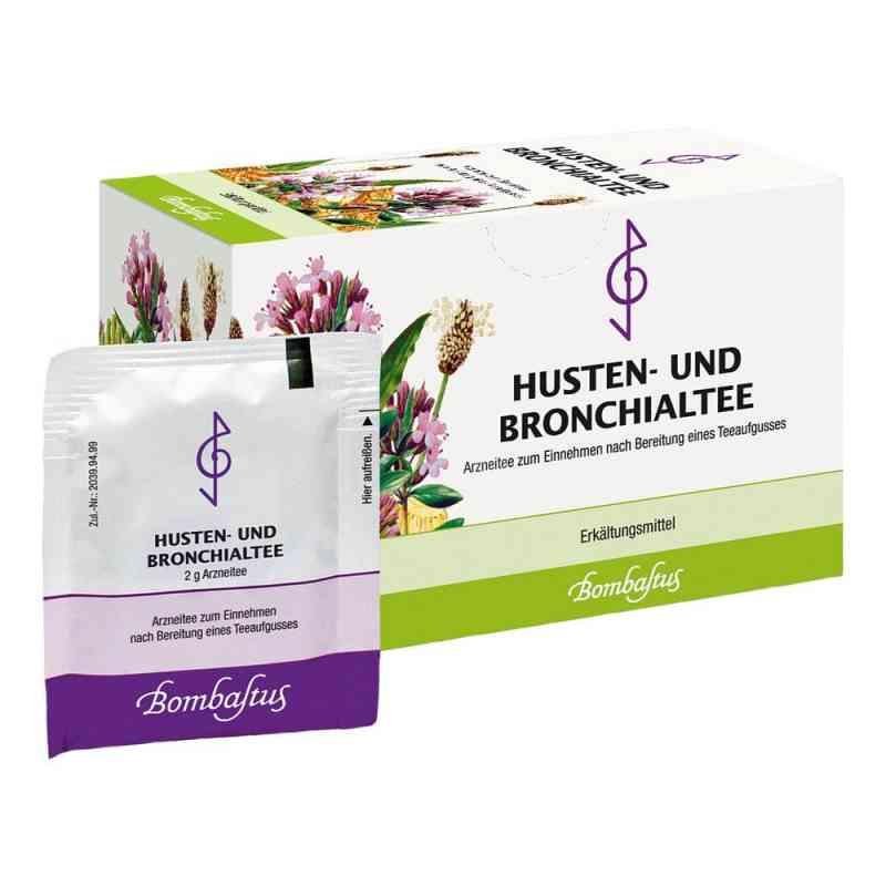Herbata na kaszel i oskrzela saszetki 20X2 g od Bombastus-Werke AG PZN 04856465