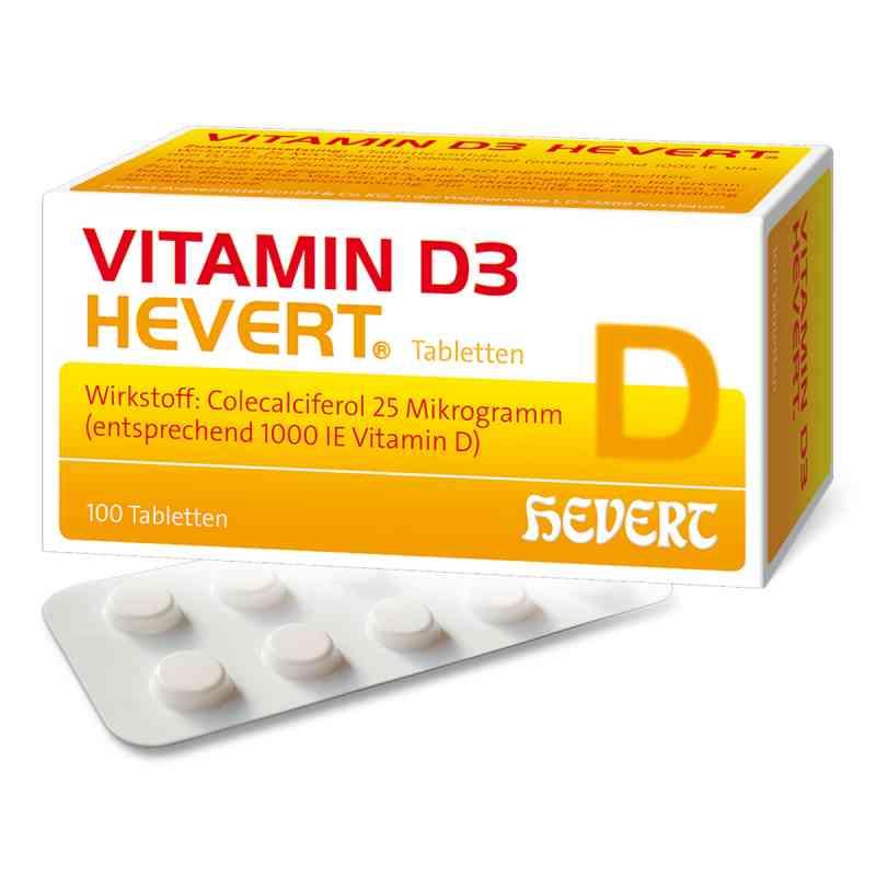 Hevert Witamina D3 tabletki   zamów na apo-discounter.pl