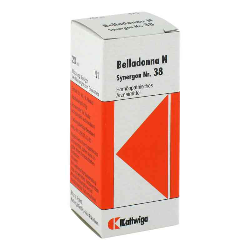 Synergon 38 Belladonna N Tropfen  zamów na apo-discounter.pl