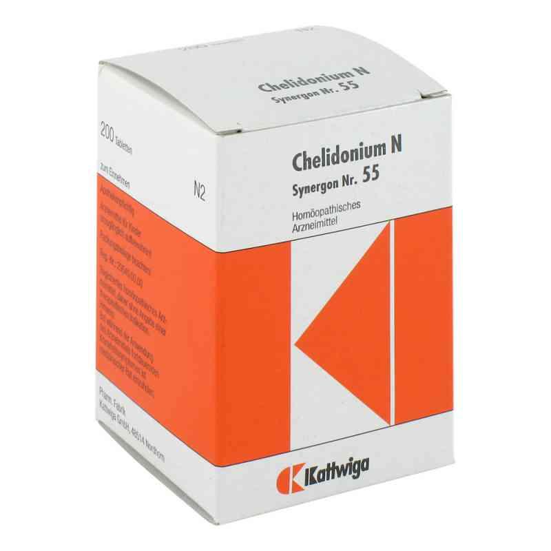 Synergon 55 Chelidonium N Tabl.  zamów na apo-discounter.pl