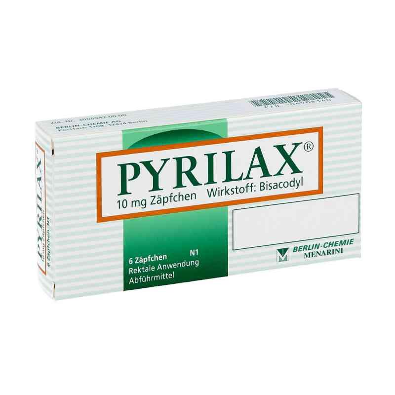 Pyrilax Suppos. 10 mg zamów na apo-discounter.pl
