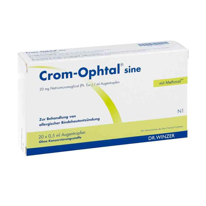 Crom Ophtal sine Edb Augentropfen  zamów na apo-discounter.pl