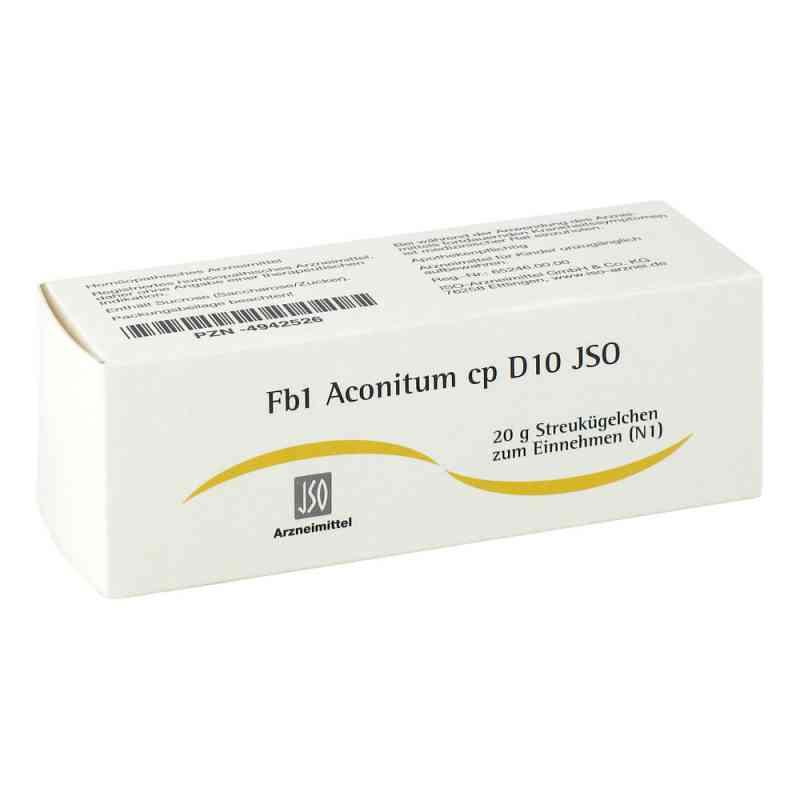 Jso Jkh Fiebermittel Fb 1 Aconitum cp D 10 Gl. zamów na apo-discounter.pl