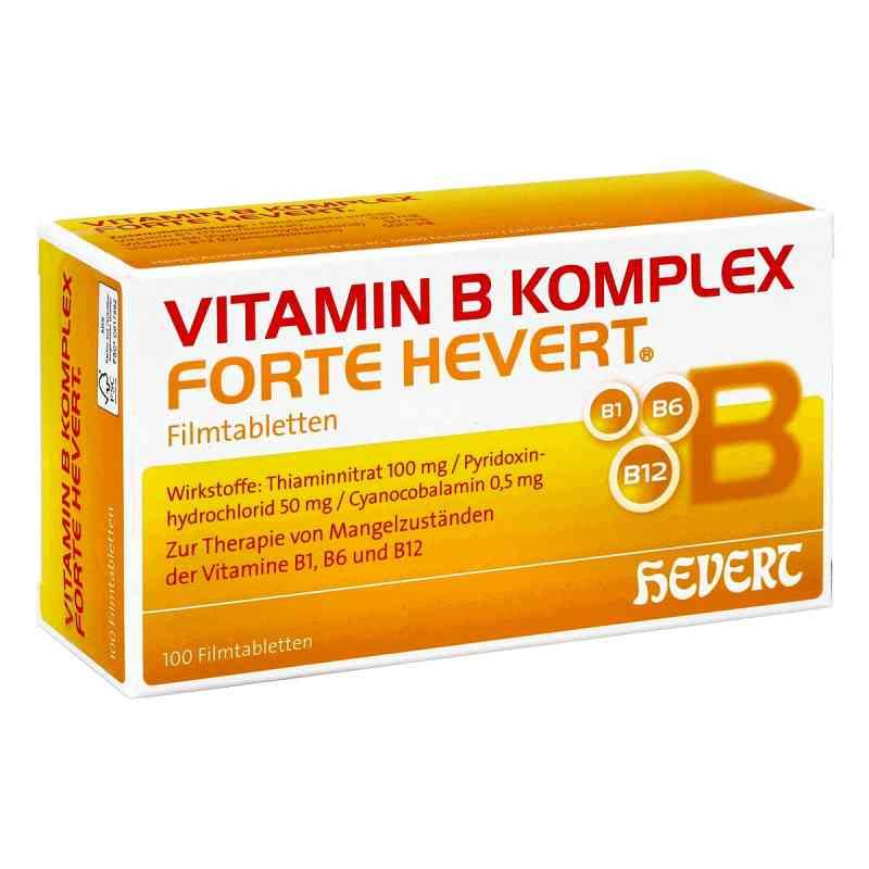 Vitamin B Komplex forte Hevert Tabl.  zamów na apo-discounter.pl