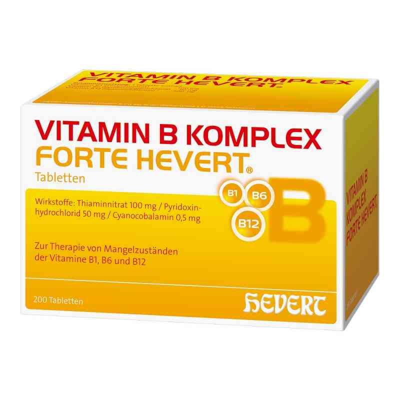 Vitamin B Komplex forte Hevert tabletki  zamów na apo-discounter.pl
