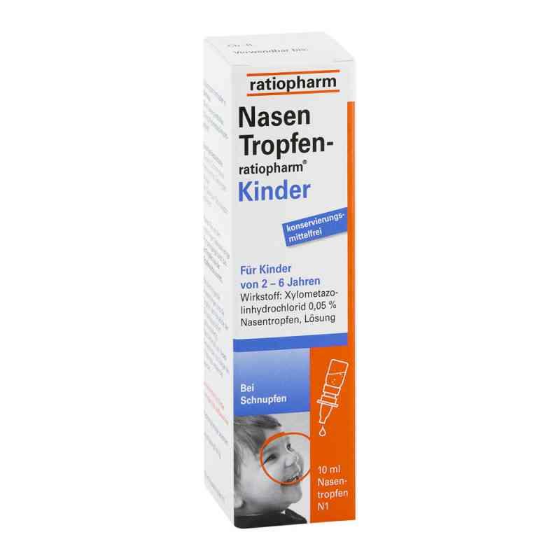 Nasentropfen ratiopharm Kinder Konservier.frei  zamów na apo-discounter.pl