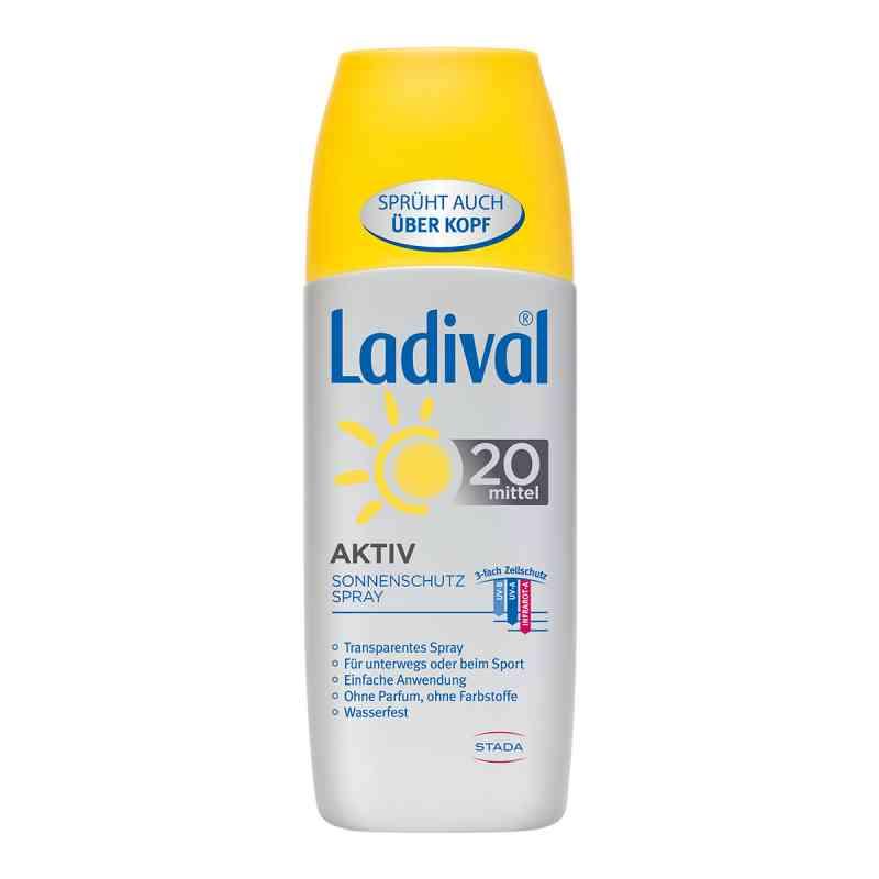 Ladival spray ochronny na słońce SPF 20  zamów na apo-discounter.pl