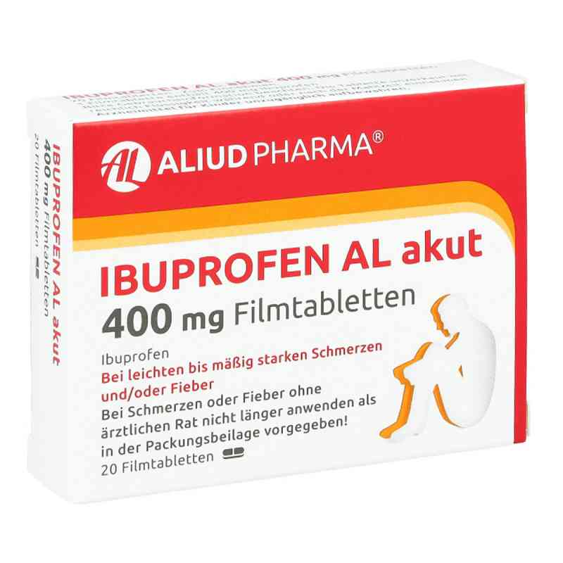 Ibuprofen Al akut 400 mg Filmtabl.  zamów na apo-discounter.pl