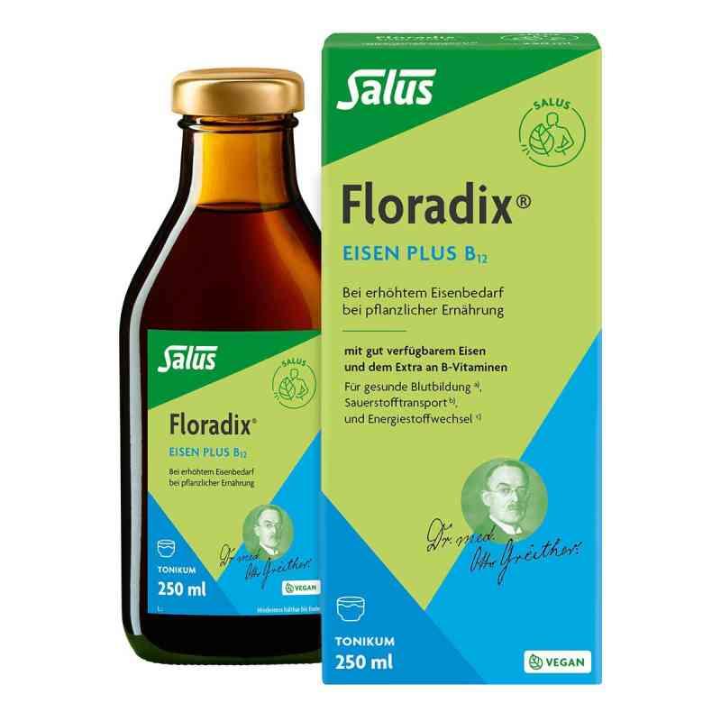 Floradix Żelazo plus B12 tonik ziołowy dla wegan zamów na apo-discounter.pl