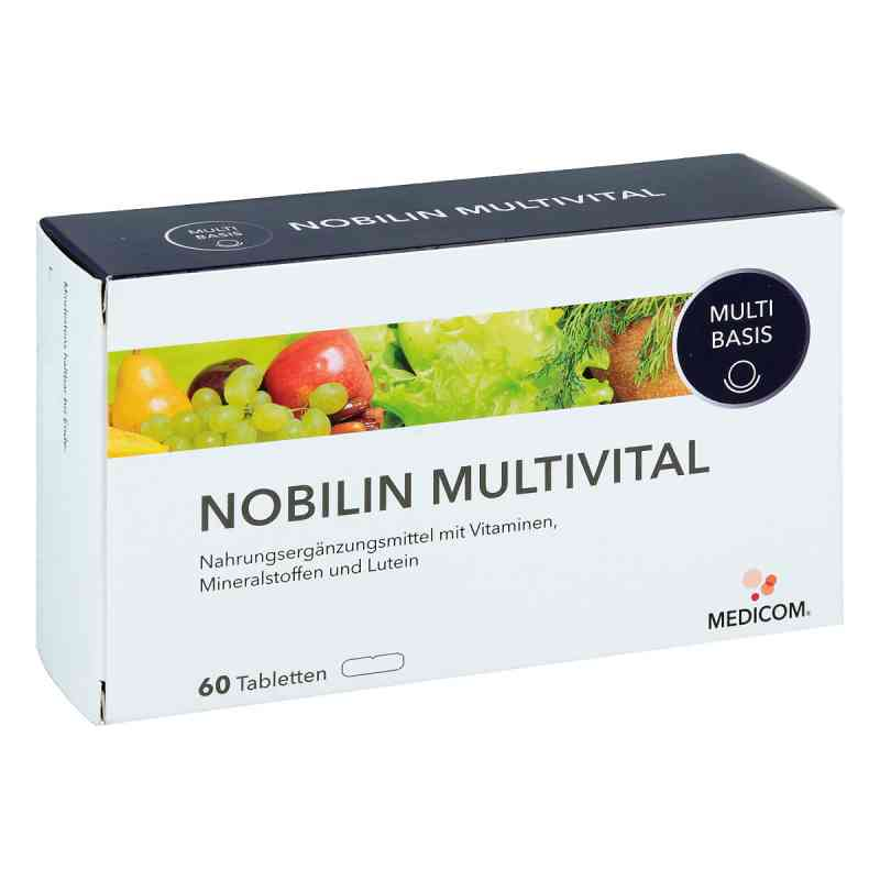 Nobilin Multi Vital tabletki 60 szt. od Medicom Pharma GmbH PZN 05102946