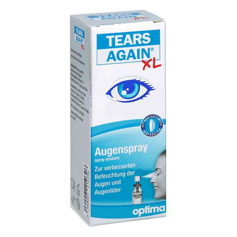 Tears Again spray do oczu z lipidami XL  zamów na apo-discounter.pl