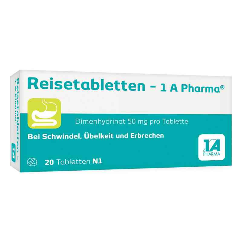 Reisetabletten 1a Pharma zamów na apo-discounter.pl