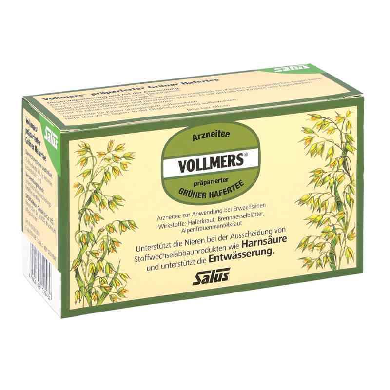 Vollmers präparierter grüner Hafertee Filterbeutel zamów na apo-discounter.pl