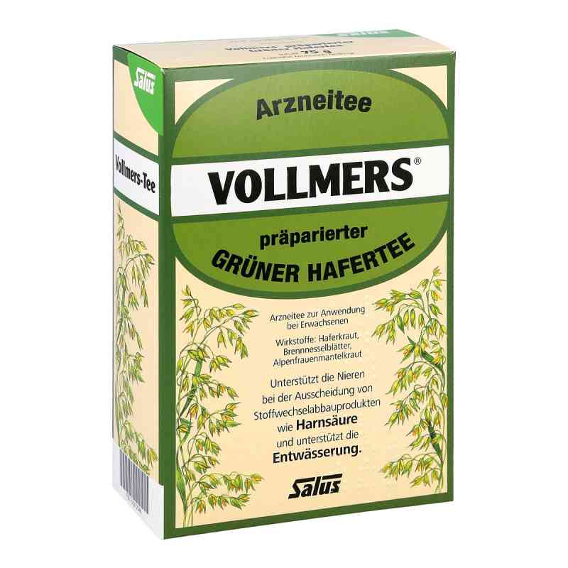 Vollmers präparierter grüner Hafertee  zamów na apo-discounter.pl