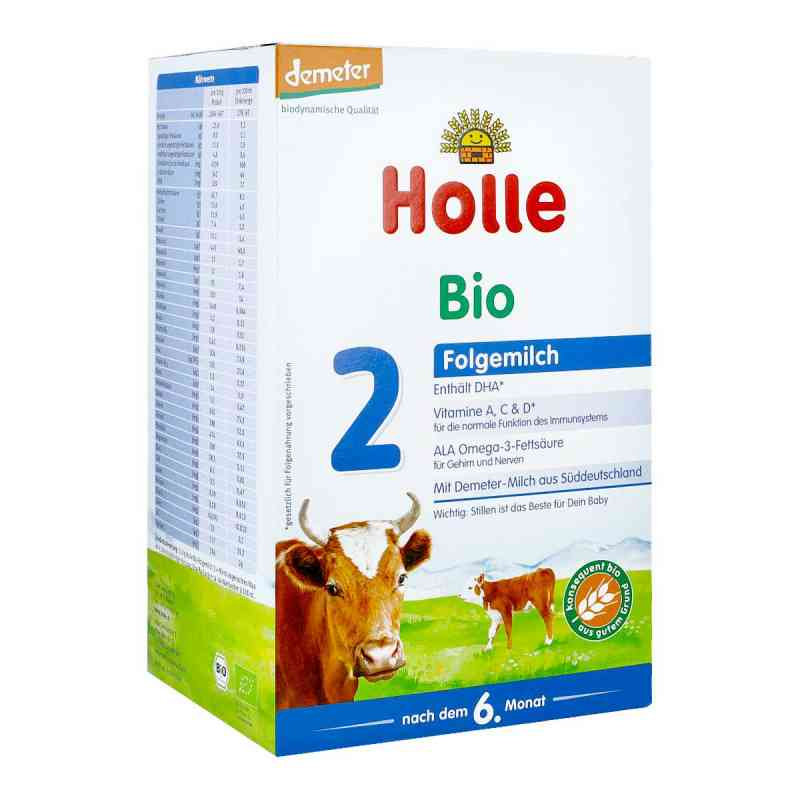 Holle Bio mleko dla niemowląt 2 zamów na apo-discounter.pl