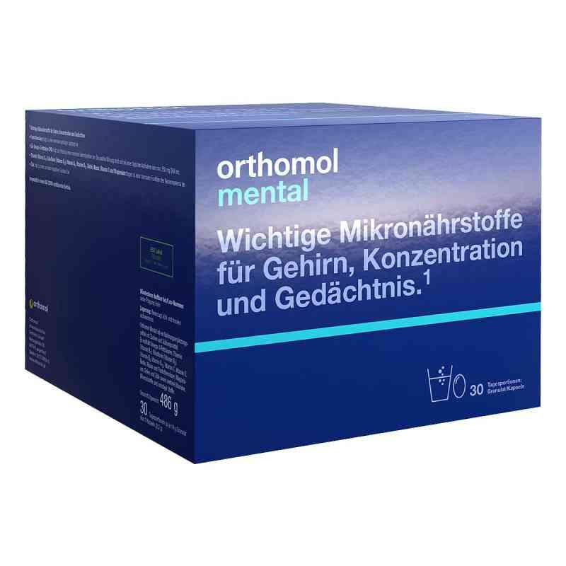 Orthomol Mental granulat+kapsułki  zamów na apo-discounter.pl
