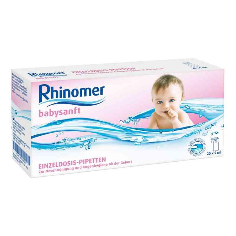 Rhinomer babysanft ampułki (20x5 ml)   zamów na apo-discounter.pl