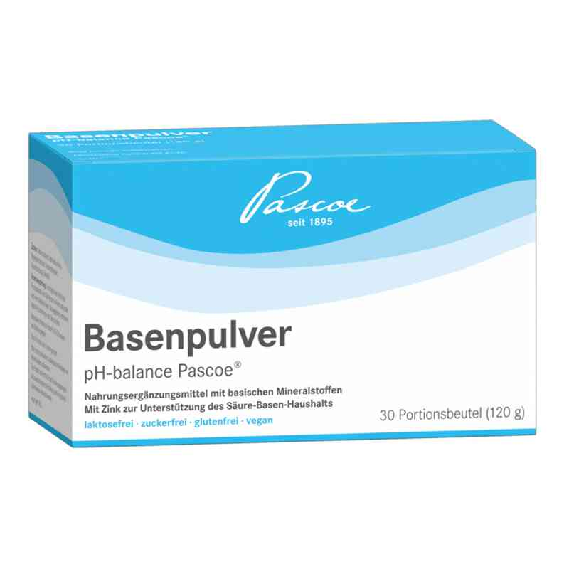 Basenpulver pH balance Pascoe  zamów na apo-discounter.pl