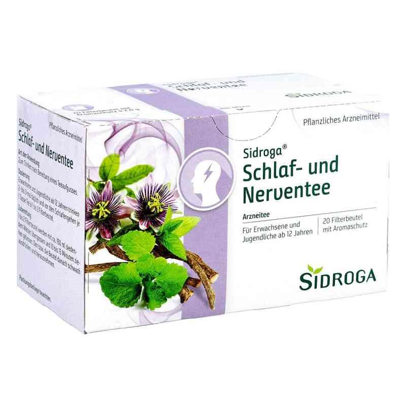 Sidroga Schlaf  u. Nerventee Filterbtl. zamów na apo-discounter.pl