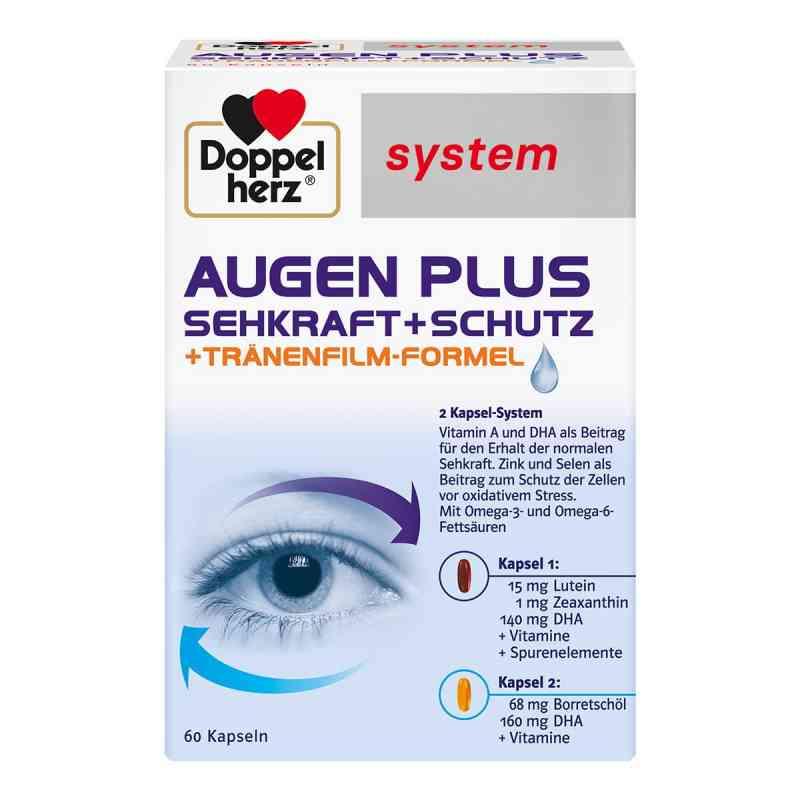 Doppelherz System Plus wzmocnienie oczu zamów na apo-discounter.pl