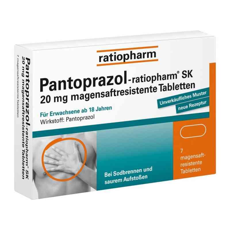 Pantoprazol Ratiopharm Sk 20 mg na zgagę zamów na apo-discounter.pl