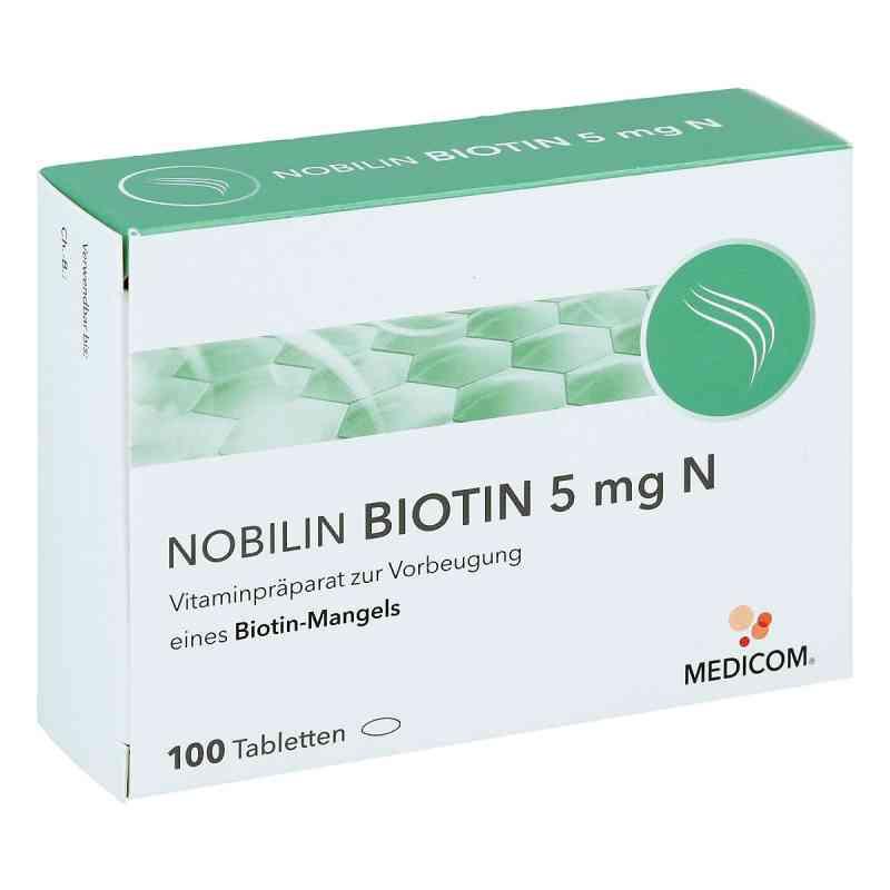 Nobilin Biotin 5 mg N biotyna tabletki  zamów na apo-discounter.pl