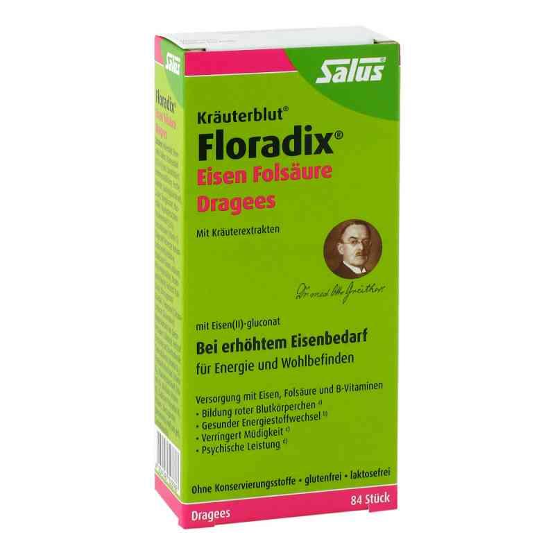 Floradix® Drażetki z kwasem foliowym   zamów na apo-discounter.pl