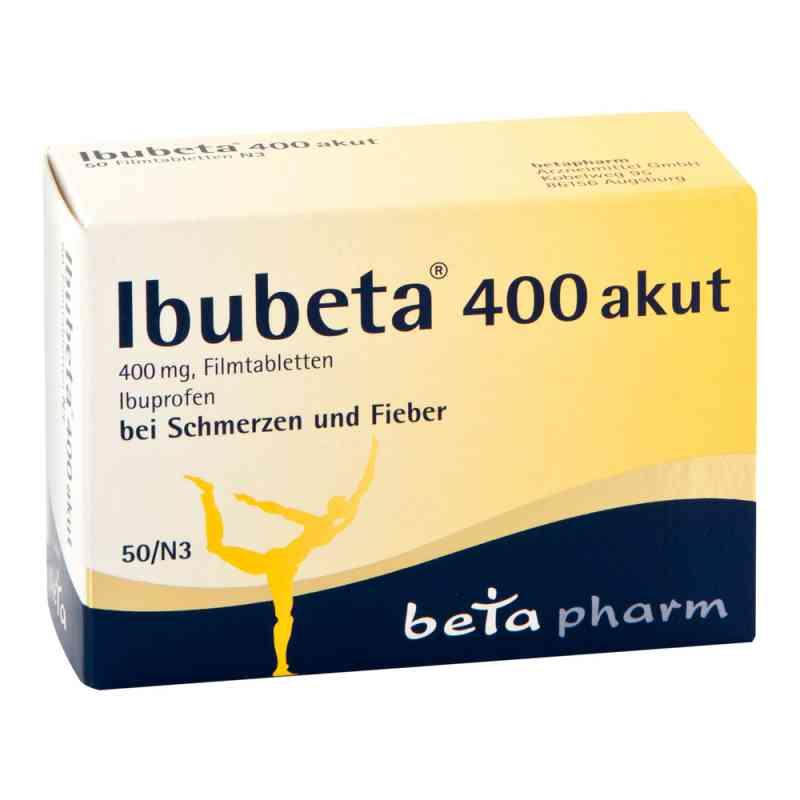 Ibubeta 400 akut Filmtabletten  zamów na apo-discounter.pl