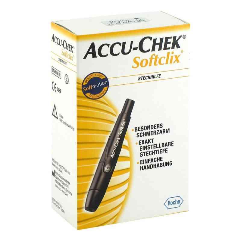 Accu Chek Softclix nakłuwacz czarny  zamów na apo-discounter.pl
