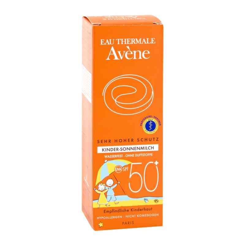 Avene Sunsitive mleczko p/słoneczne dla dzieci SPF 50+ zamów na apo-discounter.pl