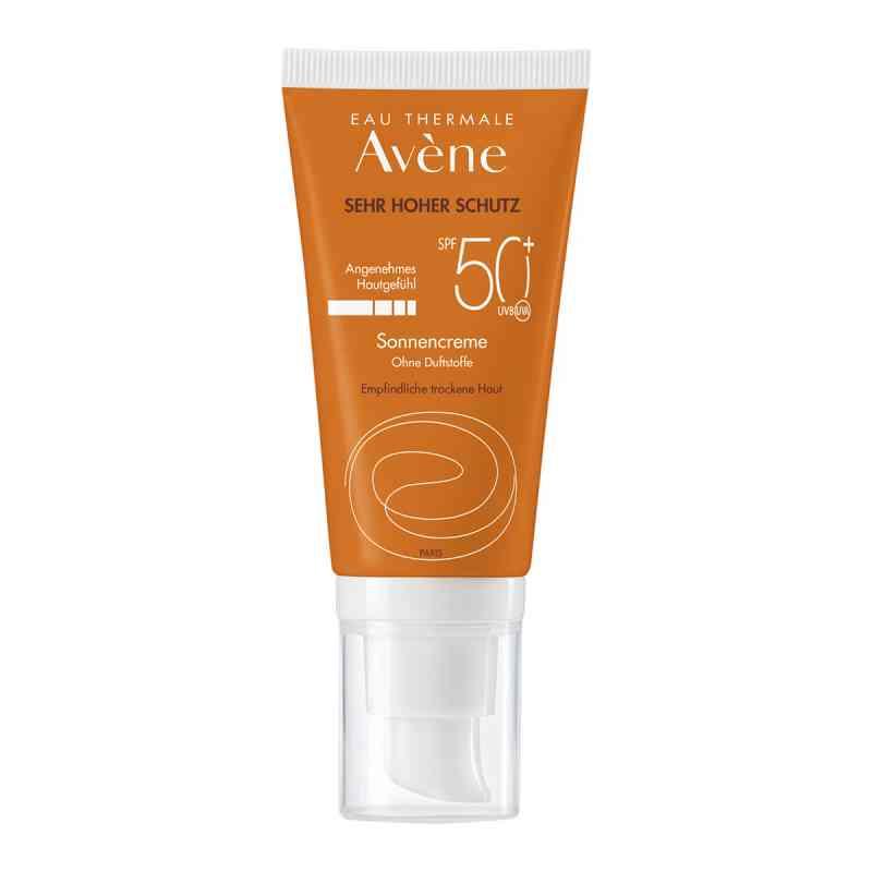 Avene Sunsitive bezzapachowy krem p/słoneczny SPF50+ zamów na apo-discounter.pl