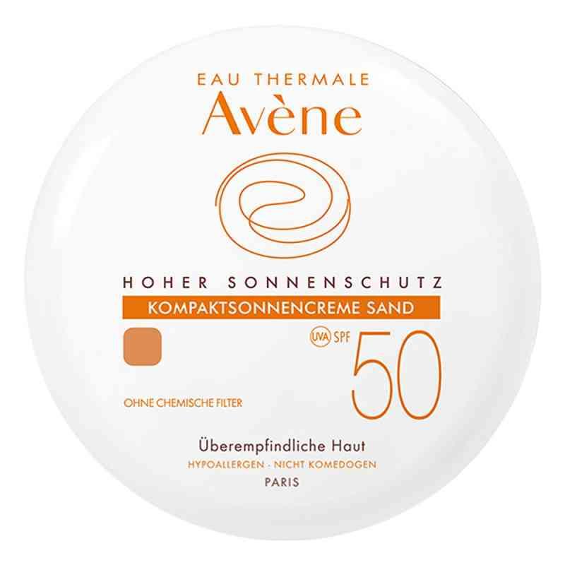 Avene kompaktowy podkład z ochroną p/słoneczną SPF50 sand zamów na apo-discounter.pl