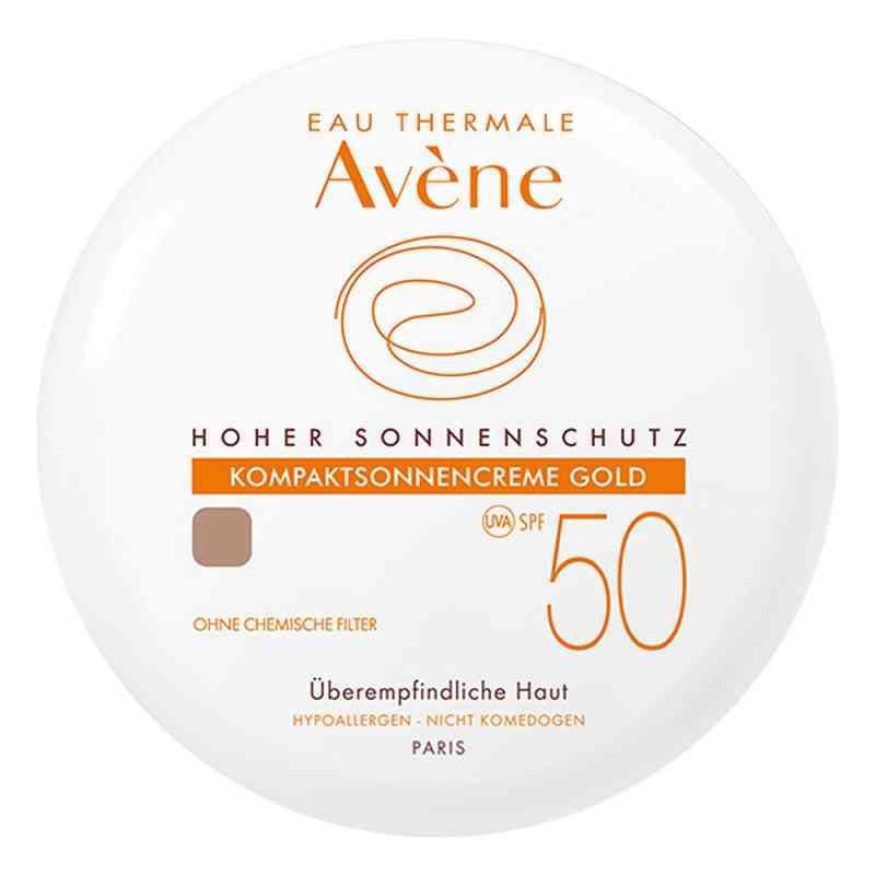Avene kompaktowy podkład z ochroną p/słoneczną SPF50 gold zamów na apo-discounter.pl
