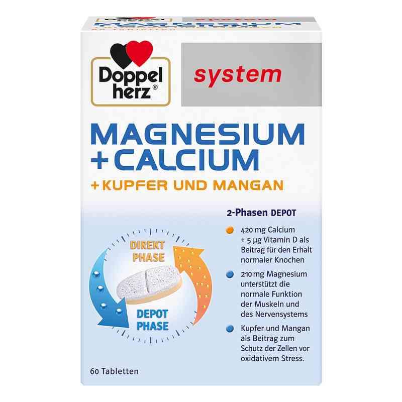 Doppelherz magnez+wapń+miedź+mangan System tabletki zamów na apo-discounter.pl