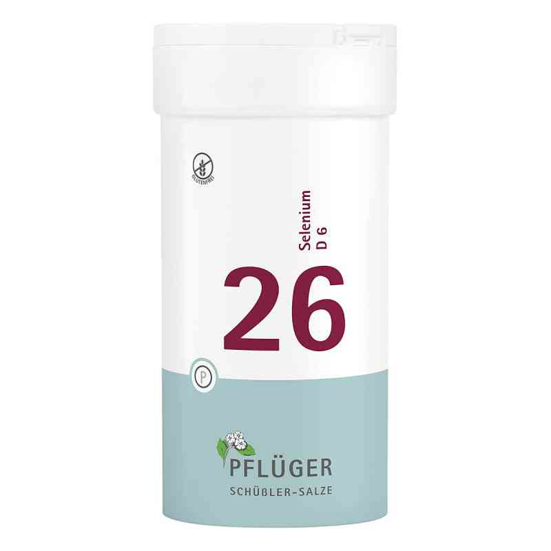 Biochemie Pflueger 26 Selenium D 6 Tabl.  zamów na apo-discounter.pl