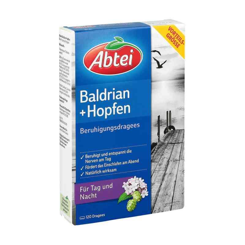 Abtei Baldrian drażetki uspokajające z chmielem zamów na apo-discounter.pl