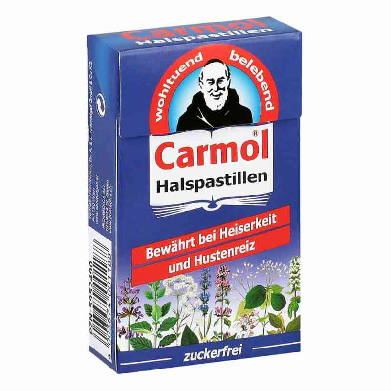 Carmol Pastylki na gardło  zamów na apo-discounter.pl