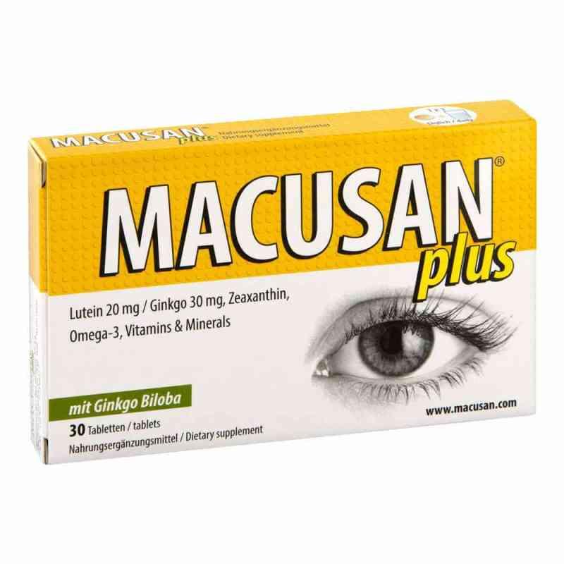 Macusan plus tabletki  zamów na apo-discounter.pl