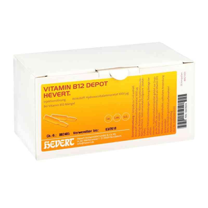 Vitamin B 12 Depot Hevert Amp. zamów na apo-discounter.pl