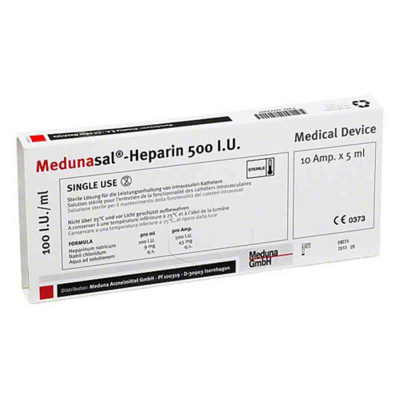 Medunasal Heparin 500 I.u. Amp.  zamów na apo-discounter.pl