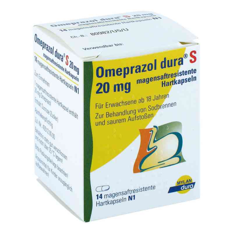Omeprazol dura S 20 mg Kapseln magensaftr.  zamów na apo-discounter.pl