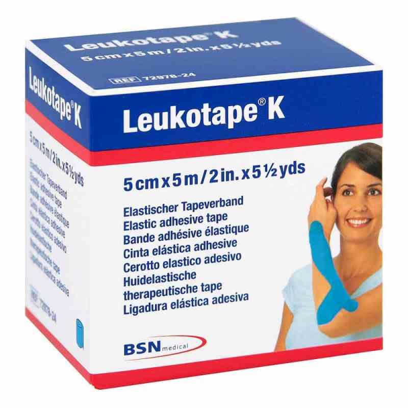 Leukotape K 5cm hellblau  zamów na apo-discounter.pl