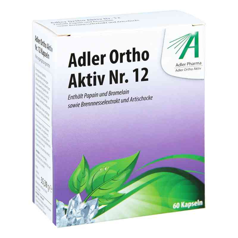 Adler Ortho Aktiv Nr.12 kapsułki  zamów na apo-discounter.pl