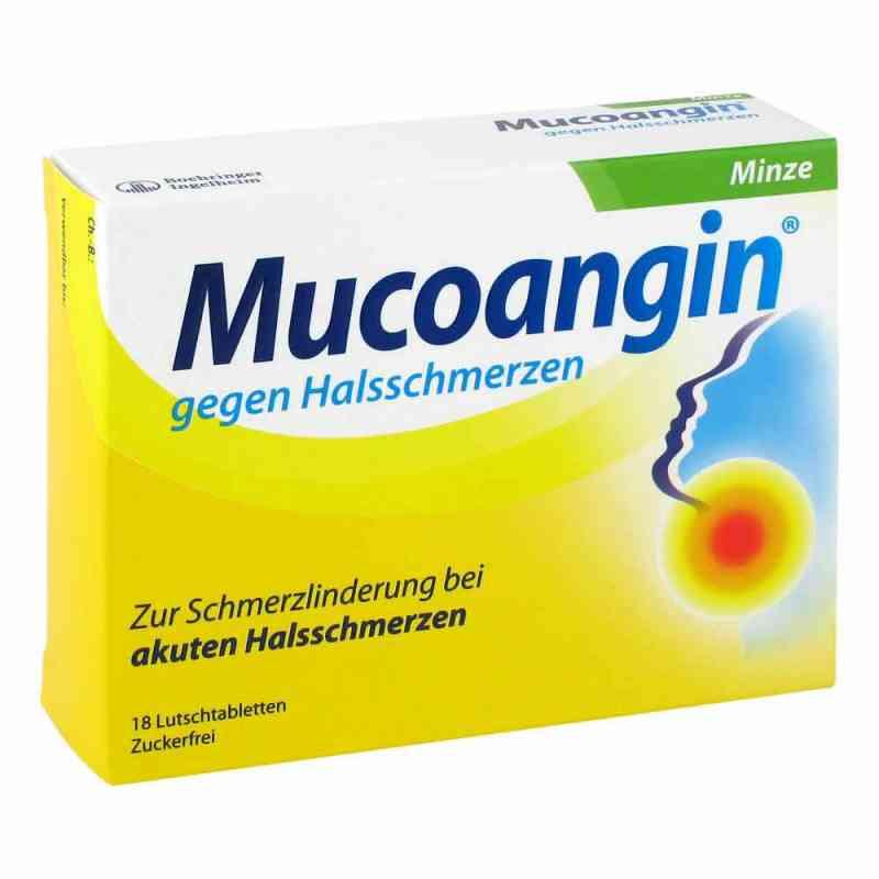 Mucoangin Minze 20 mg Lutschtabletten  zamów na apo-discounter.pl