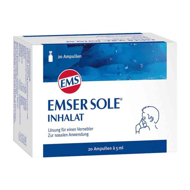 Emser sól emska w ampułkach do inhalatora  zamów na apo-discounter.pl