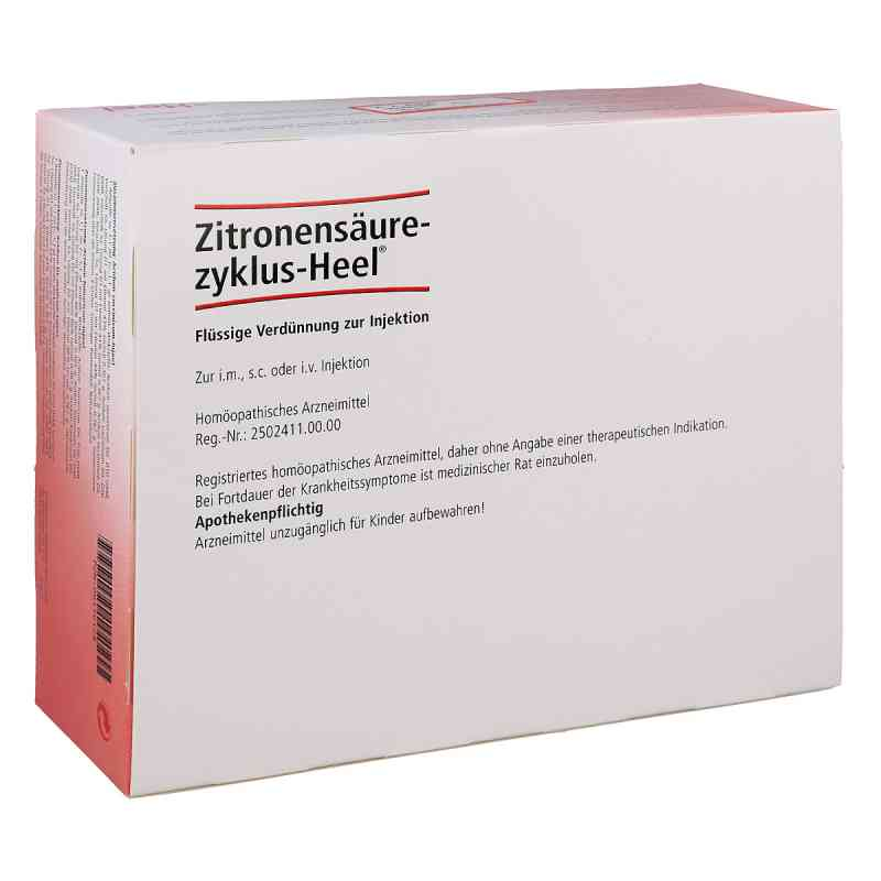 Zitronensaeurezyklus Heel Amp. zamów na apo-discounter.pl