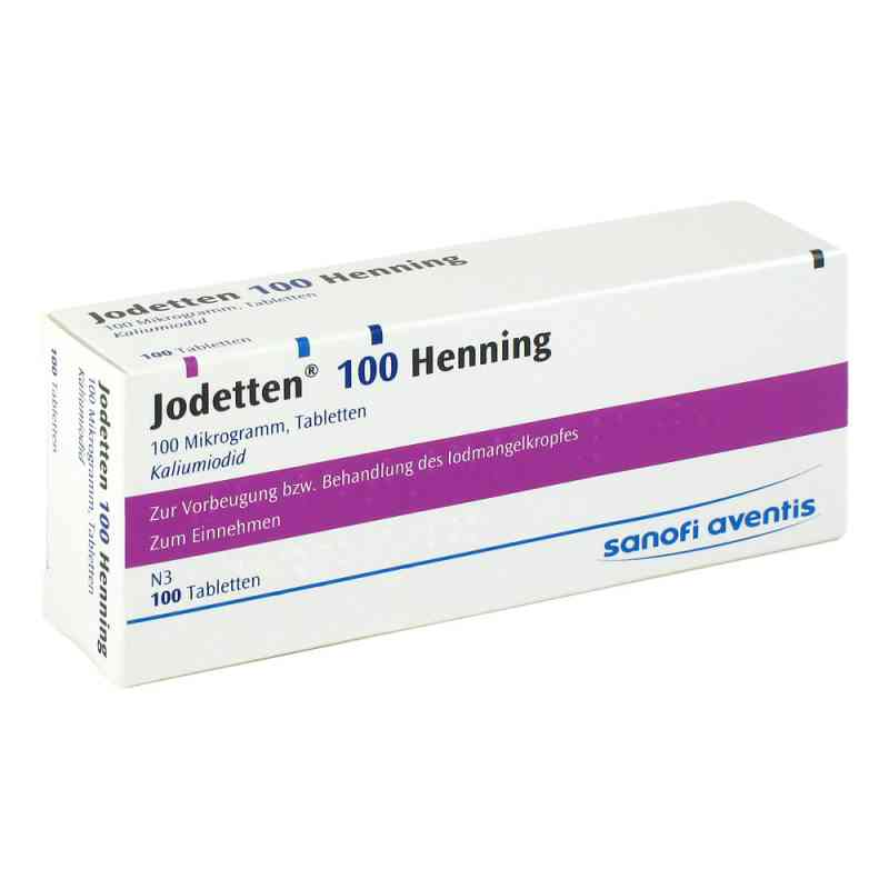 Jodetten 100 Henning tabletki  zamów na apo-discounter.pl