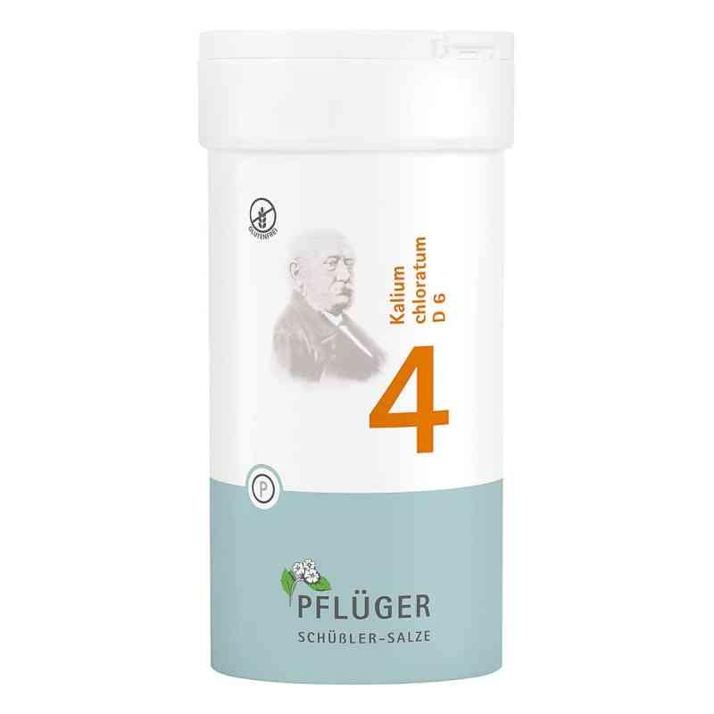 Biochemie Pflueger 4 Kalium chlorat.D 6 Tabl.  zamów na apo-discounter.pl