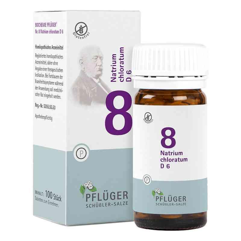 Biochemie Pflueger 8 Natrium chlorat.D 6 Tabl.  zamów na apo-discounter.pl